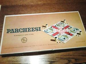Parcheesi-Gold-Seal-Edition-1964-Mint-WOW