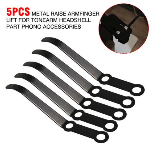 5X Raise Arm Finger Lift Phonograph Accessories Metal for Tonearm Headshell Part
