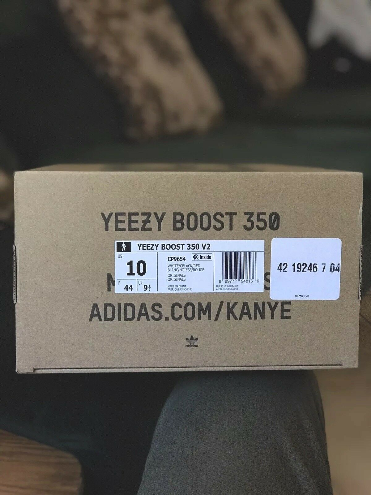 e9bae3489 Adidas Yeezy Boost V2 350 Size Size Size US 10 Brand New Authentic 100%  Black