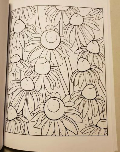 Adult Coloring Creative Haven Floral Design Color By Number Book Jessica Mazurkiewicz 2014 Paperback
