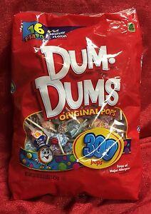 Image Is Loading 300 Dum Dums Spangler Lollipops Pops Ers 16