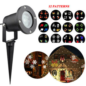 Xmas-Party-Moving-Laser-Projector-LED-Light-Garden-Landscape-Lamp-Indoor-Outdoor