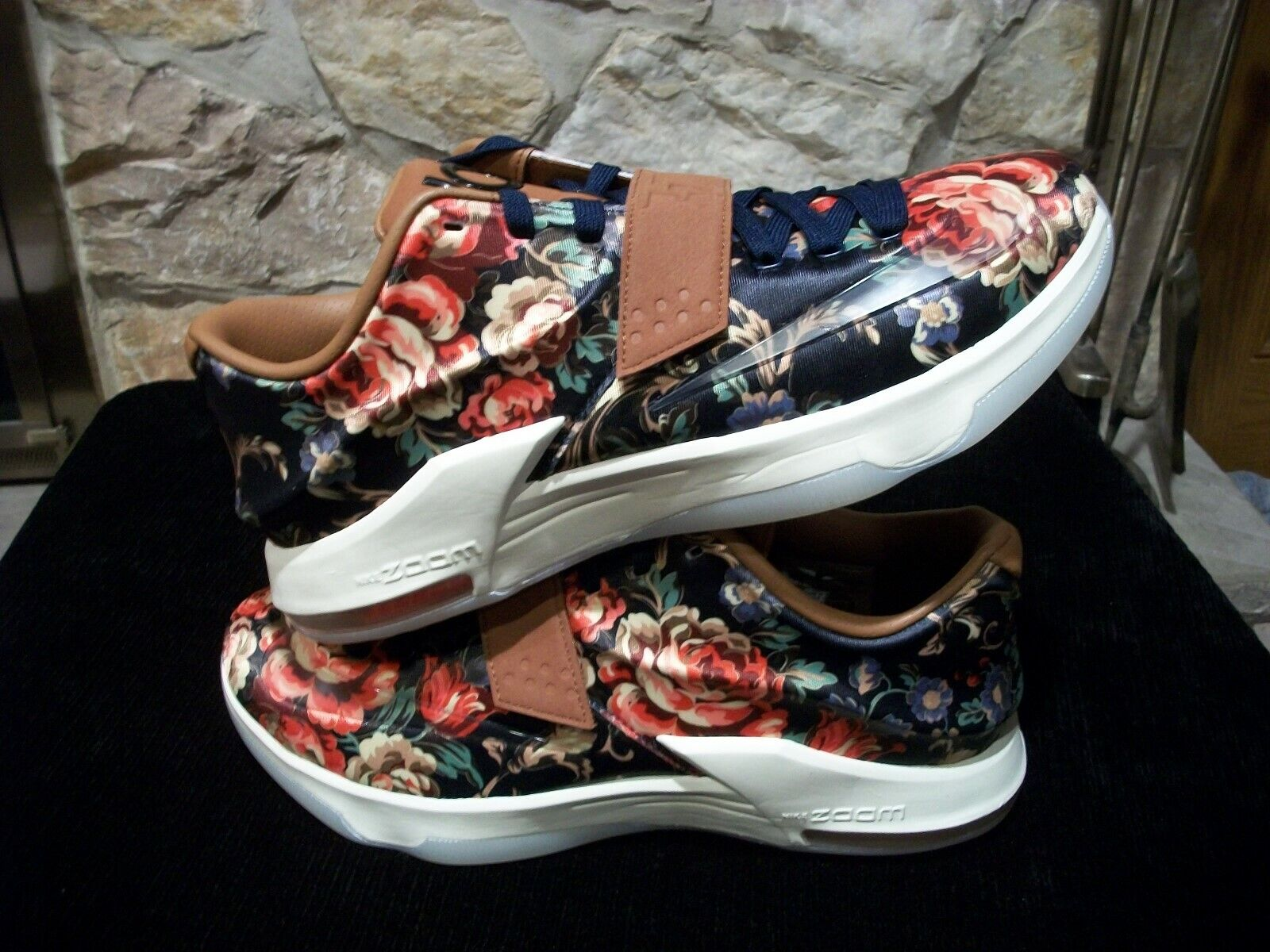 NIKE AIR KD VII EXT FLORAL QS 726438 400 ( SIZE 12 )