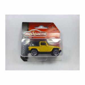 Majorette 212052791 Jeep Wrangler amarillo-street Cars 1:64 coche modelo nuevo °