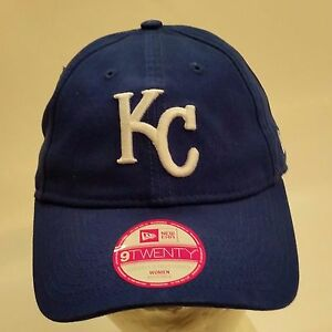 9ec057b6 Details about NEW ERA 9TWENTY Adjustable Women's Cap - Hat, MLB Kansas City  Royals (3578)