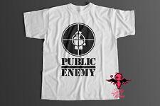 Amplified Official Public Enemy Merchandise HipHop Logo Rock Star T-Shirt g.M 48
