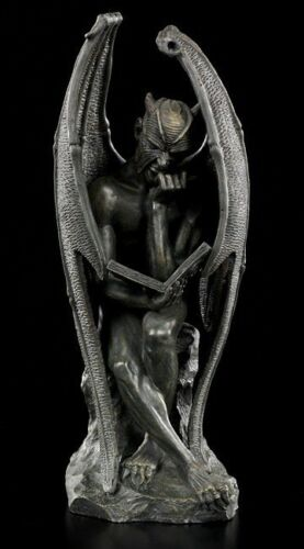 Lucifer Figur Satan Teufel Statue Devil Luzifer