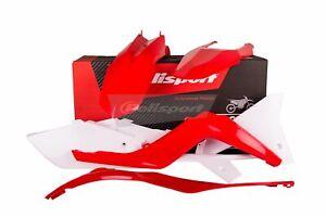 Polisport Kit de Carénage en Plastique Rouge Blanc Polisport 90554