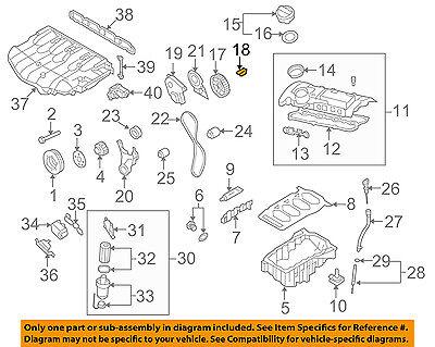 Porsche 65-98 Woodruff Key for Camshaft Drive Gear Flange//Balance Shaft Genuine