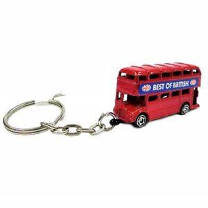 London Red Bus Metal Keyring Souvenir Gift