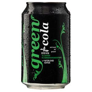 Green Cola 12 X 330ml 0 Zucker Keine Konservierungsstoffe