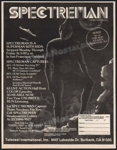 SPECTREMAN-Original-1978-Trade-print-AD-TV-series-network-promo-anime-manga