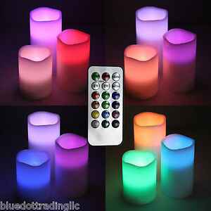 3-pc-Color-Changing-Flameless-Battery-Operated-LED-Candles-Remote-Control-Timer