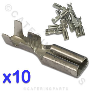 10-X-SMALL-2-8-PUSH-FIT-SPADE-TERMINAL-CONNECTOR-FOR-HT-IGNITION-LEAD-ELECTRODE