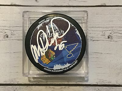 Michal Rozsival Signed 2016 Winter Classic Chicago Blackhawks Hockey Puck A Various Styles Sports Mem, Cards & Fan Shop