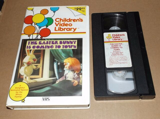 The Easter Bunny is Coming to Town (VHS, 1984) CHILDREN'S VIDEO LIBRARY