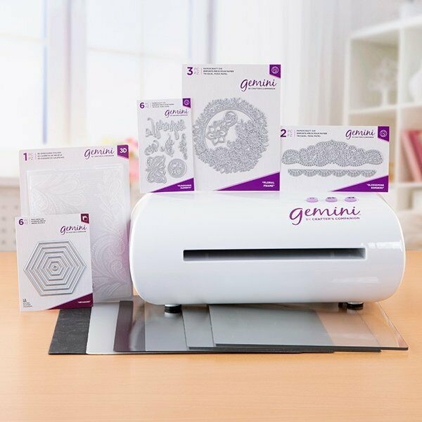 Crafter/'s Companion Gemini JUNIOR Die Cutting And Embossing Machine /&Accessories
