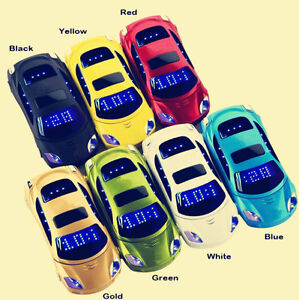10PCS Unlocked F15 MINI Flip Sports Car Cell Phone Dual SIM MP3 Backup Phone