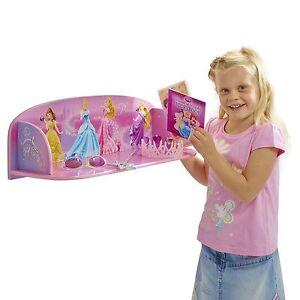 Princesse-Disney-Temps-de-Livre-MDF-Livre-Etagere-Neuf-Chambre-a-Coucher