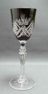 Kristallglas-Sekt-Roemer-Rubinroter-Uberfangm-eingestochene-Luftblasen-21-4-cm