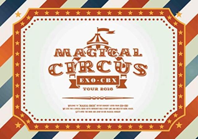 EXO-CBX MAGICAL CIRCUS TOUR 2018 Blu-ray 2 Discs & CD Japan First Press Ltd F/S