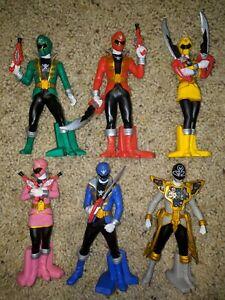 Kaizoku Sentai Gokaigers 6 Figure Lot Bandai