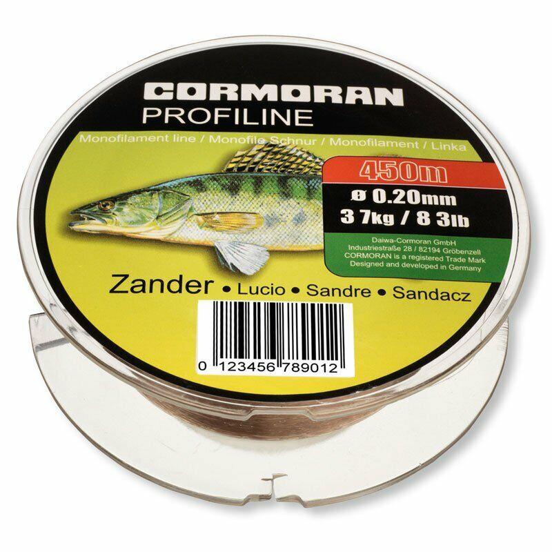 Cormoran Profiline Zielfischschnur monofile Angelschnur Aal 0.30 400m 7,6kg