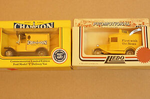 Rare-Models-of-Promotion-Champion-Lorry-and-The-Times-Delivery-Van
