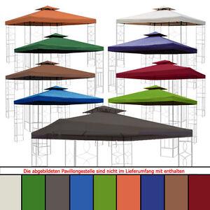 ersatzdach 270g dach wasserdicht pavillon m mit kaminabzug pavillondach ebay. Black Bedroom Furniture Sets. Home Design Ideas