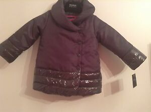 Bnwt 100 Auth Cynthia Rowley Baby Girl Grey Jacket With Pink Top