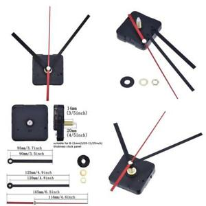 Details about Quartz Wall Clock Movement Mechanism Battery Powered DIY or  Make It Easy Install