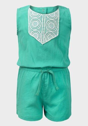 BNWOT Niñas ex Carters Verde Corto Pijama rango de edades entre 12 y 24 meses
