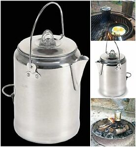 Stansport-Campers-Coffee-Pot-Percolating-Camping-Outdoor-Percolator-Campfire