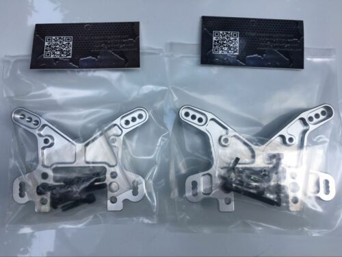 CNC Alliage Avant Support d/'amortisseurs arrière amortisseur pont pour Losi DBXL XL 1//5 RC Gas