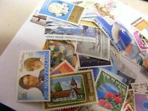 NEW-ZEALAND-Lot-of-44-f-v-Mint-stamps-all-different-Collection