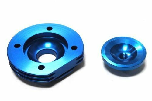 44MM BIG BORE TOP END KIT FOR ATV POCKET BIKE 49CC 2 STROKE STAGE 2 BLUE V CK09B