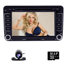 """HIZPO for VW Jetta Passat Golf 7"""" HD Touch Car Stereo GPS DVD Player Radio SD"""