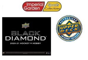 2020-21 Upper Deck BLACK DIAMOND Hobby Hockey Factory Sealed Box