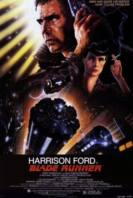 Classic Movie 1982 Blade Runner Silk Art Poster Y587 21 36x24 40x27