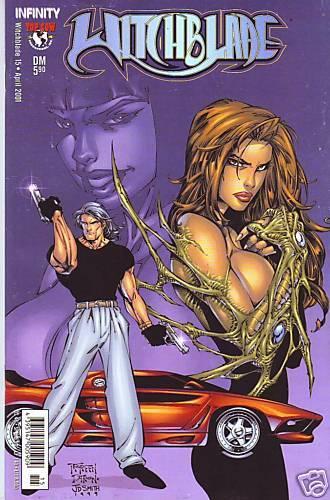 Nr.15 // 2001 Christina Z Witchblade /& Randy Green Infinity