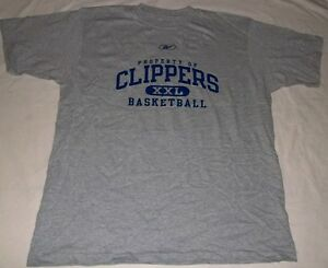 Los-Angeles-Clippers-T-shirt-Large-NBA-Collection-Reebok-Cool-Logo