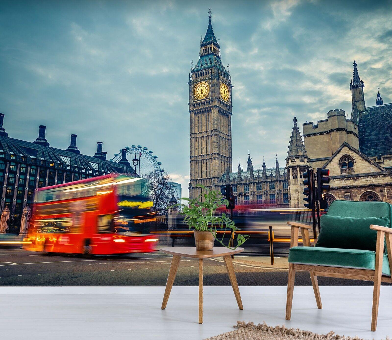 3D Großer Ben Busse 998 Tapete Wandgemälde Tapete Tapeten Bild Familie DE Sidney