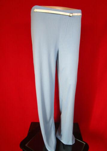 gamba Pantaloni Pantaloni It30 Ferre Designer Lux donna Sz casual a da larga An41 blu r8qrWF7Hv