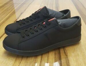 039c8f70 Details about Prada shoes men black new fashion sneakers SIZES UK 7.5 8 9  9.5 10