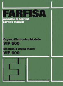 FARFISA-VIP600-Service-Manual-Schema-elettrico-Schematics-Schaltplan-VIP-600