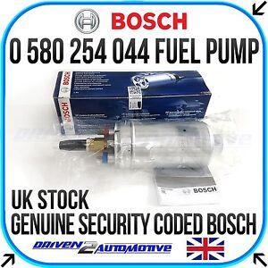 0580254044 Fuel Pump 6AN Check Valve Fittings 044 8AN Inlet /& GENUINE BOSCH