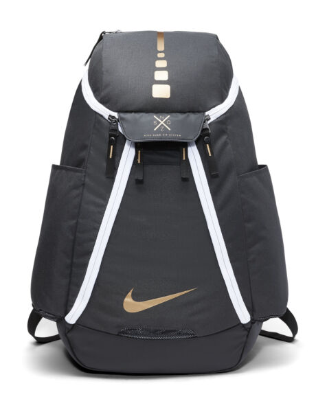 Nike Hoops Elite Max Air Team 2.0 BA5259-060 Backpack - Anthracite Black Metallic  Gold for sale online  bc57ed0b58dd1