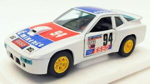 Burago-1-24-escala-Diecast-Modelo-Coche-1518N-Porsche-924-Turbo-coche-de-carreras-Blanco