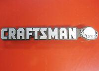 Craftsman ball Bearing Tool Box Badge Chest/cabinet,emblem,decal,sticker,logo