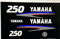 Yamaha Outboard Motor Decal Kit 250 Hp Marine Vinyl Not Ink-jet